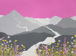 SOLD Springtime on Cat Bells
