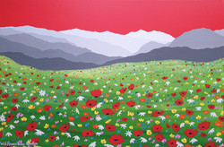 SOLD Wild flowers under Helvellyn