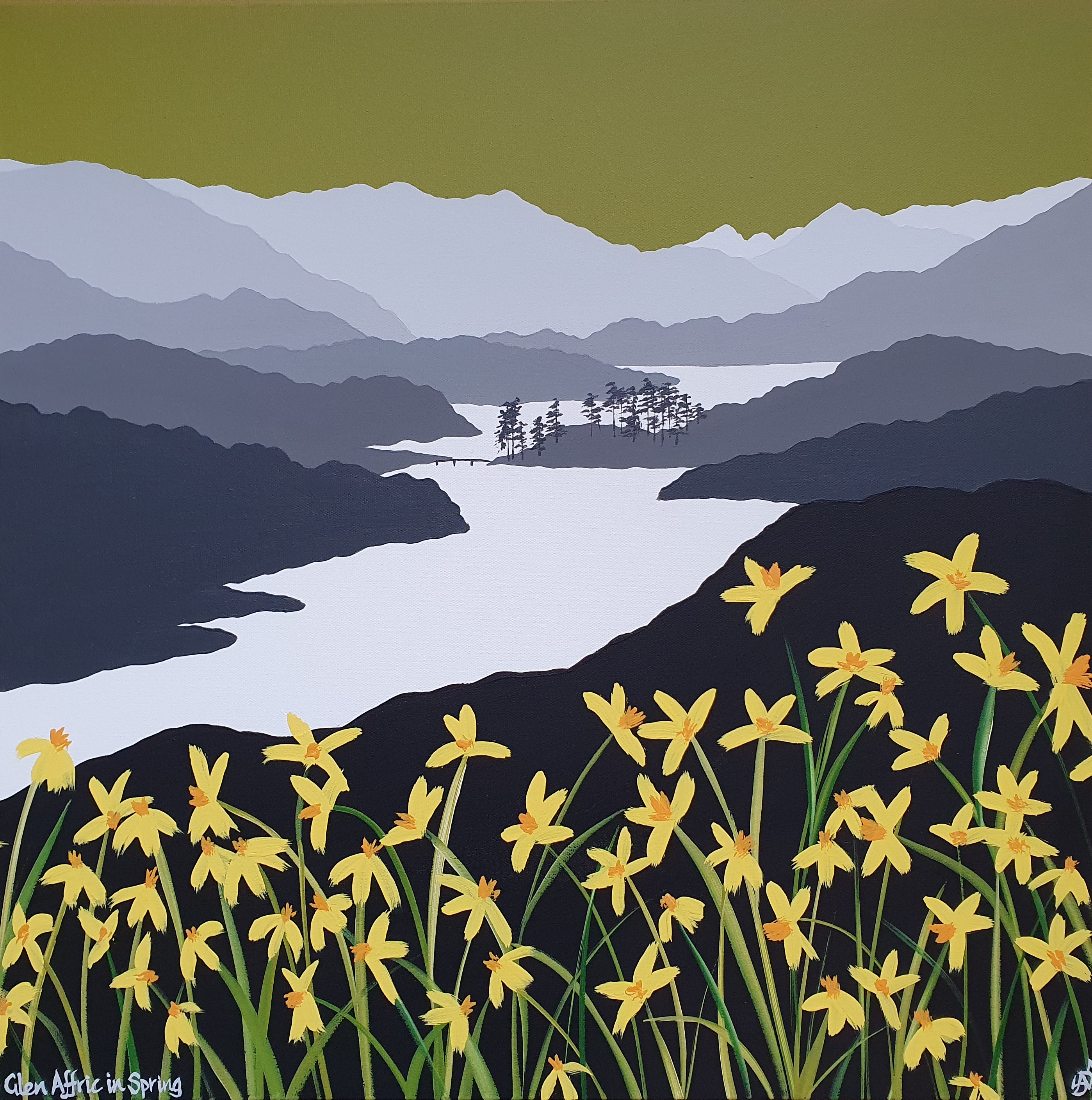 SOLD Glen Affric in Spring