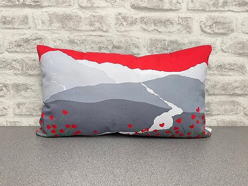 In love with Cat Bells cushion