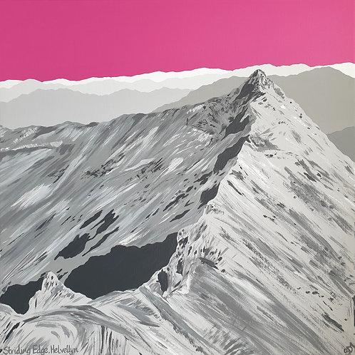 Print - Striding Edge, Helvellyn