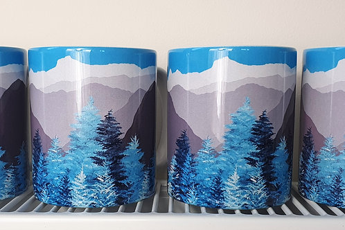Mug - Langdale Pikes from Tarn Hows