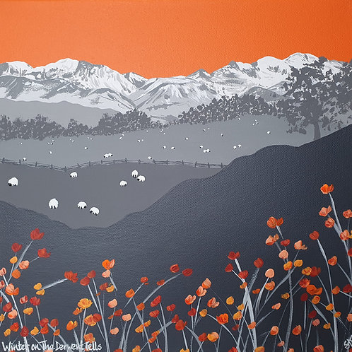 Winter on The Derwent Fells