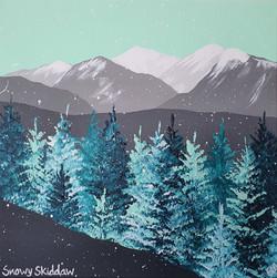SOLD Snowy Skiddaw