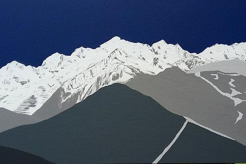 Mont Blanc, Chamonix, FRANCE