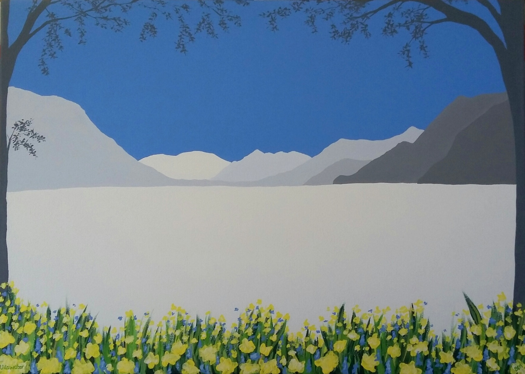 SOLD Ullswater Daffodils