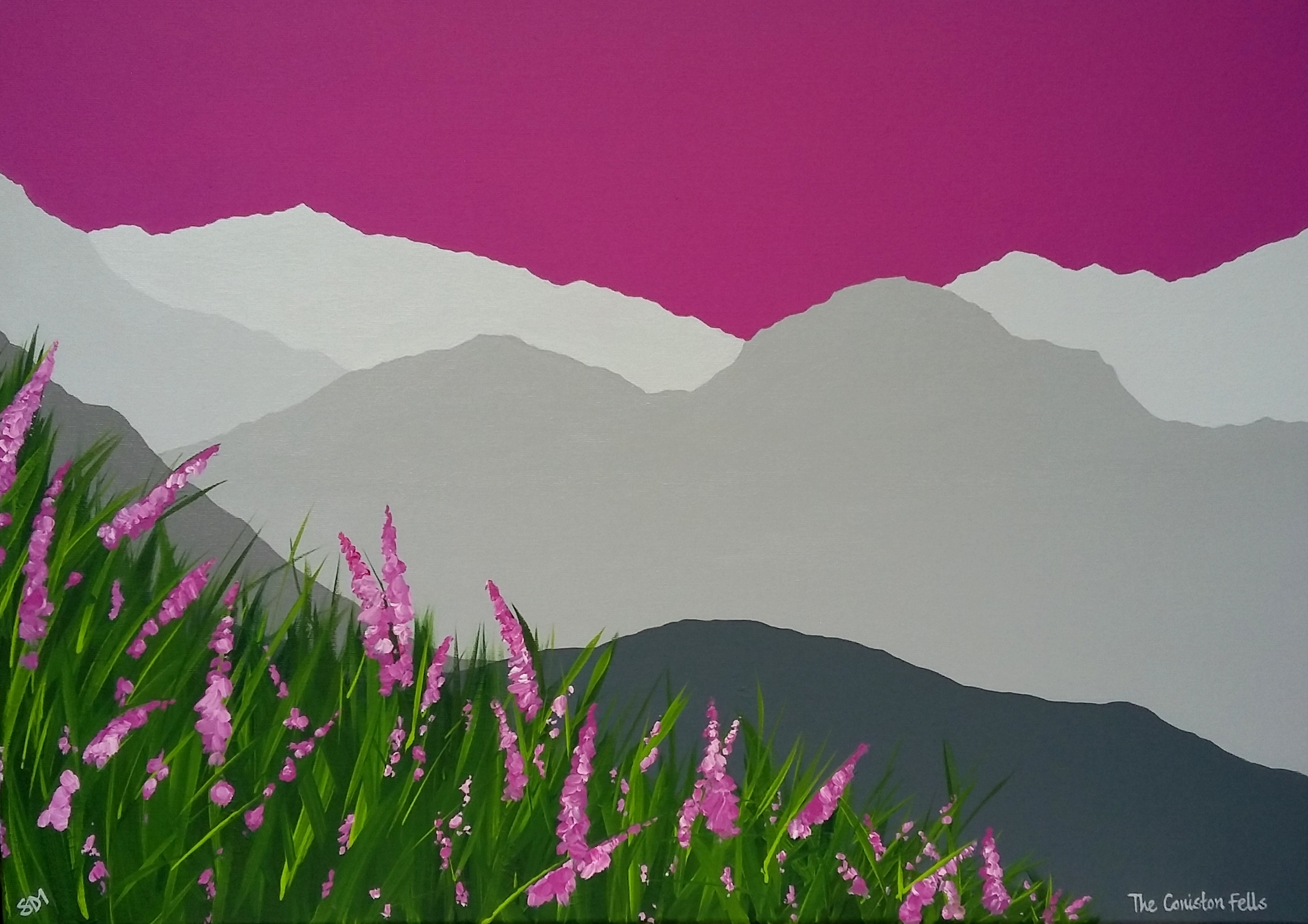 SOLD The Coniston Fells