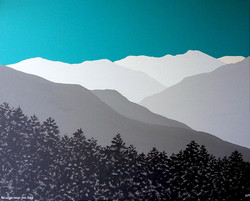 SOLD Helvellyn range from Dodd