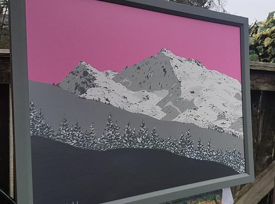 Meribel, French Alps