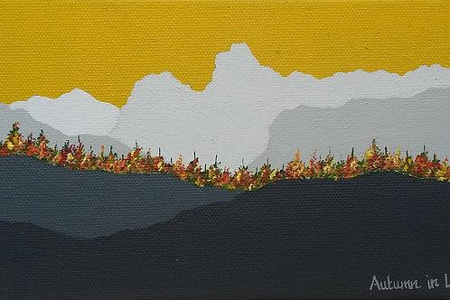 Autumn in Langdale (mini)