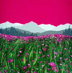 SOLD Magenta Meadow