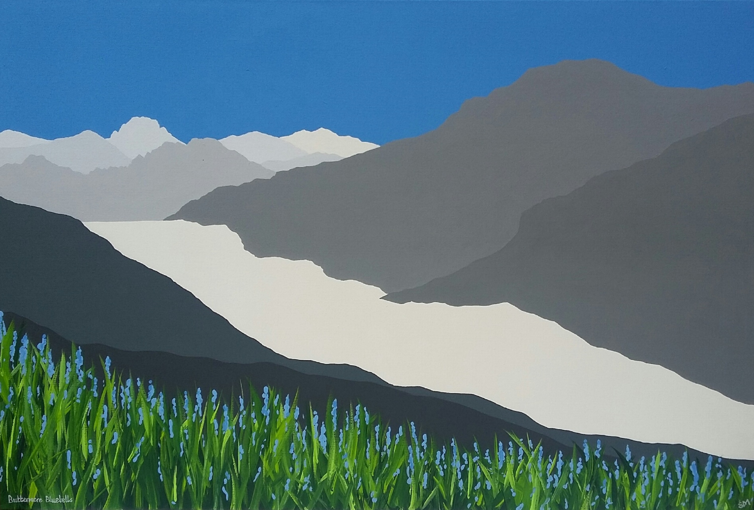 SOLD Buttermere bluebells