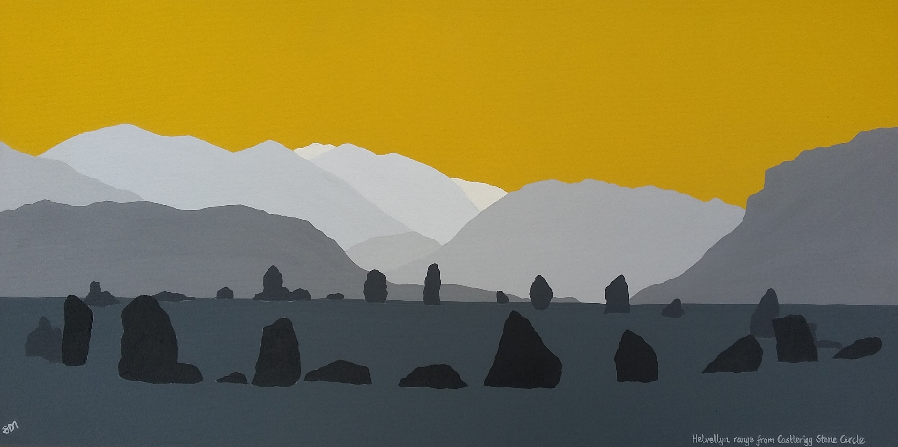 SOLD Helvellyn range