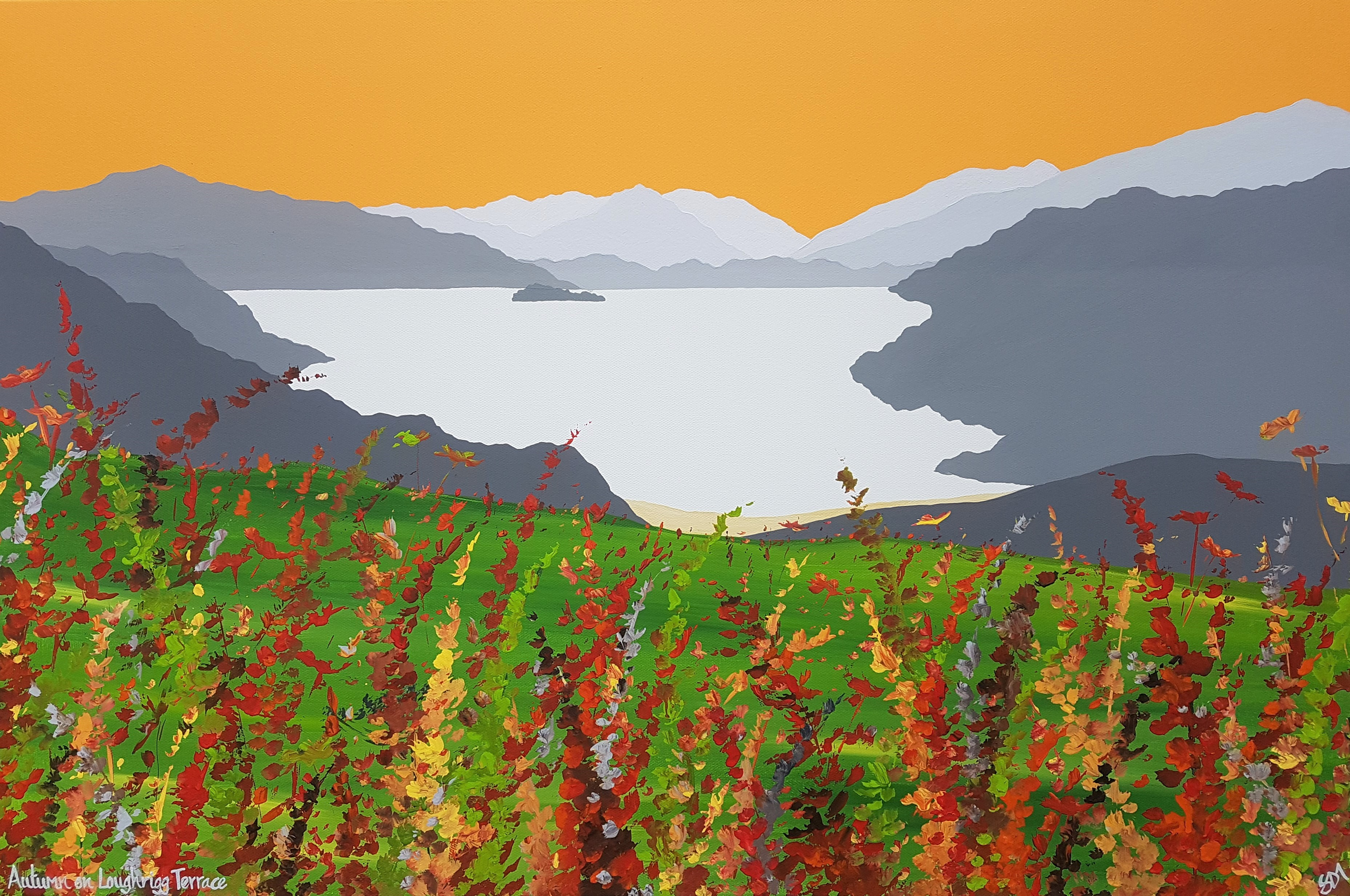 SOLD Autumn on Loughrigg Terrace