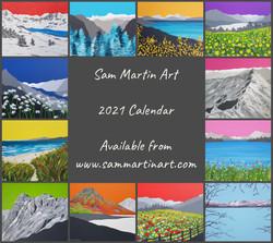 2021 Calendar (£14 incl shipping)
