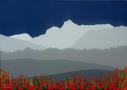 SOLD Langdale Pikes in blue
