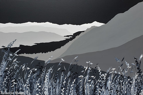 Print - Thirlmere from Helvellyn