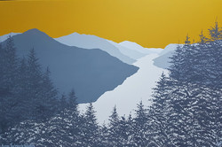 SOLD Across Thirlmere to Helvellyn