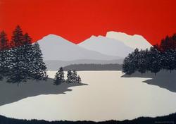 SOLD Ben Nevis across Loch Lochy