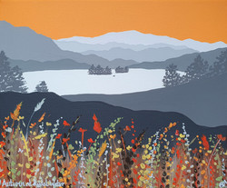 SOLD Autumn at Rydal Water