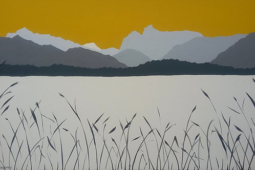 Across Windermere (Very large painting)