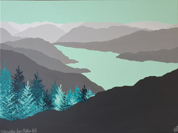 SOLD Ullswater from Hallin Fell
