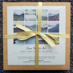 Pastel Lake District Card Collection