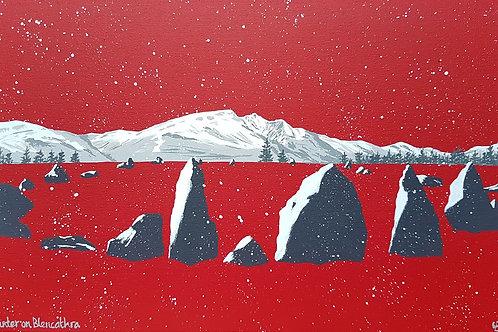 Winter on Blencathra
