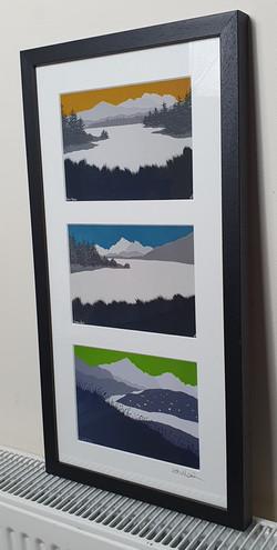 3 peaks print set