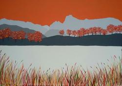 SOLD Autumn at Loughrigg Tarn