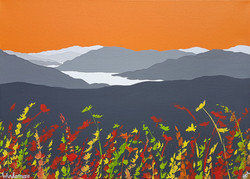 SOLD Autumn over Windermere
