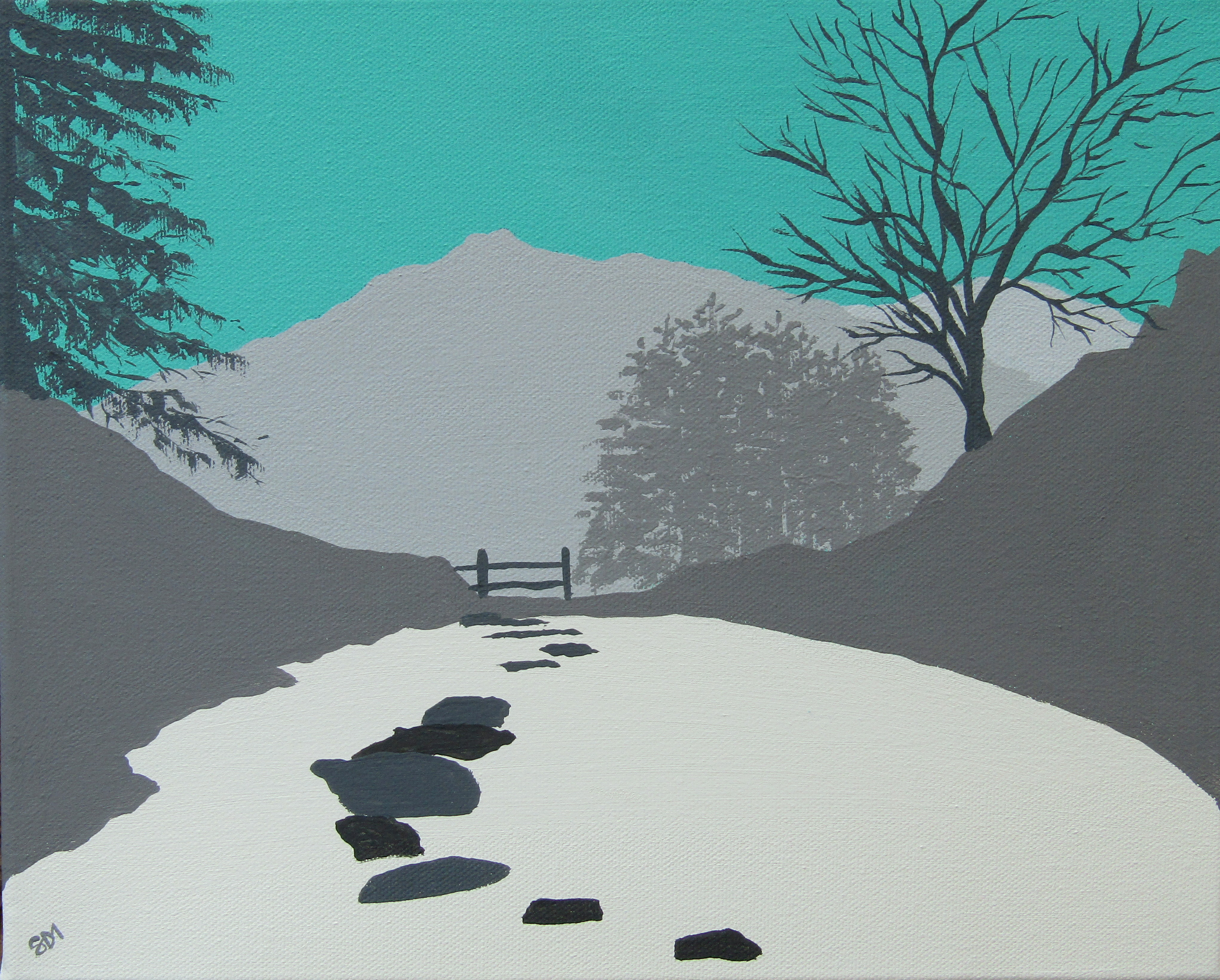 SOLD A view from Rydal Cave