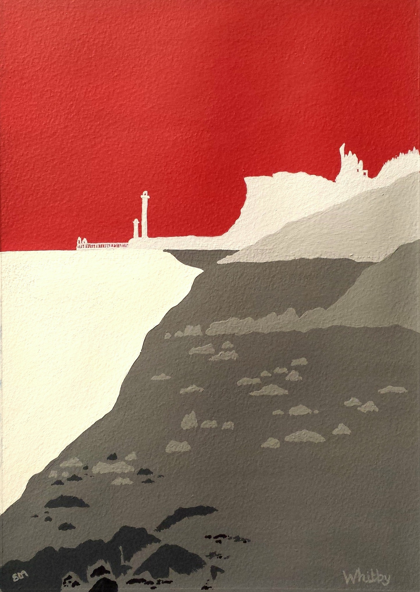 SOLD Whitby in red