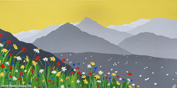 Summer flowers & Causey Pike