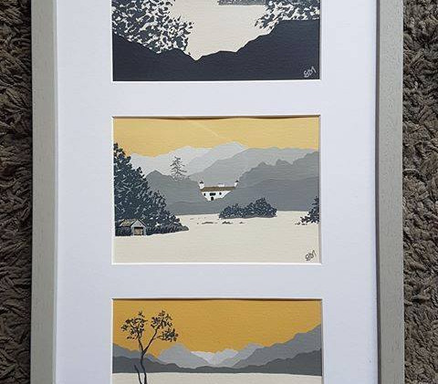 Rydal Water, Cote How, Buttermere
