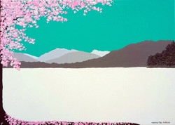 SOLD Cherry Blossom in Ambleside