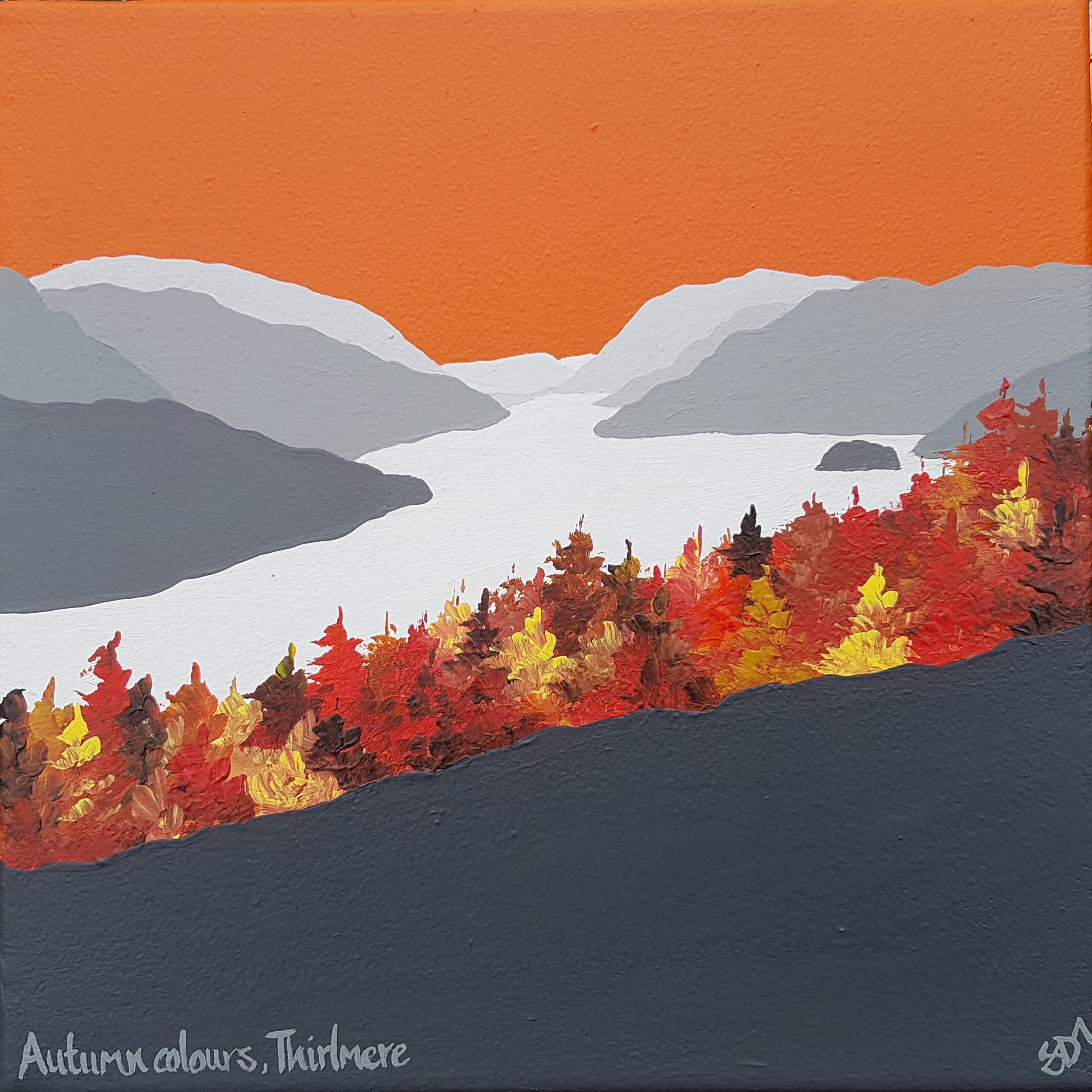 SOLD Autumn colours, Thirlmere