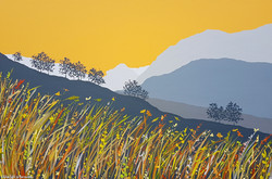 SOLD Golden light in Borrowdale