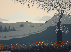 SOLD Autumn colours in Grasmere