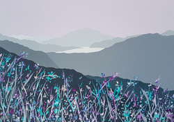 SOLD Loughrigg Fell across Grasmere