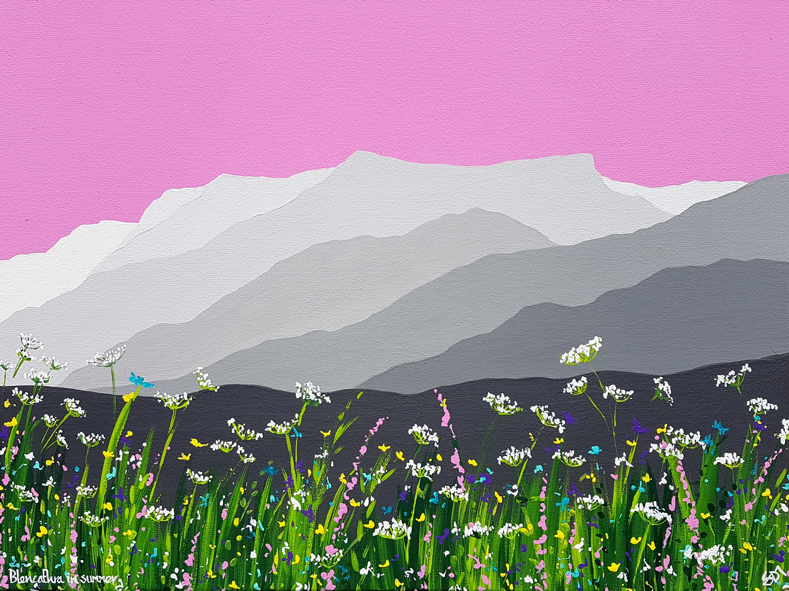 SOLD Summer on Blencathra