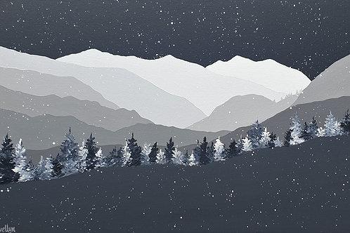 Winter skies over Helvellyn