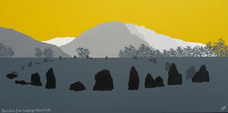 SOLD Blencathra from Castlerigg