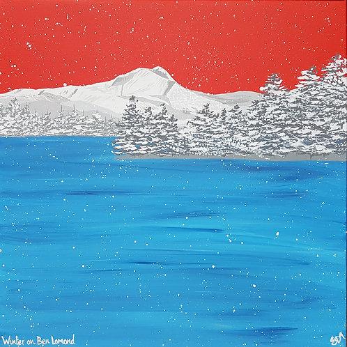 Winter on Ben Lomond