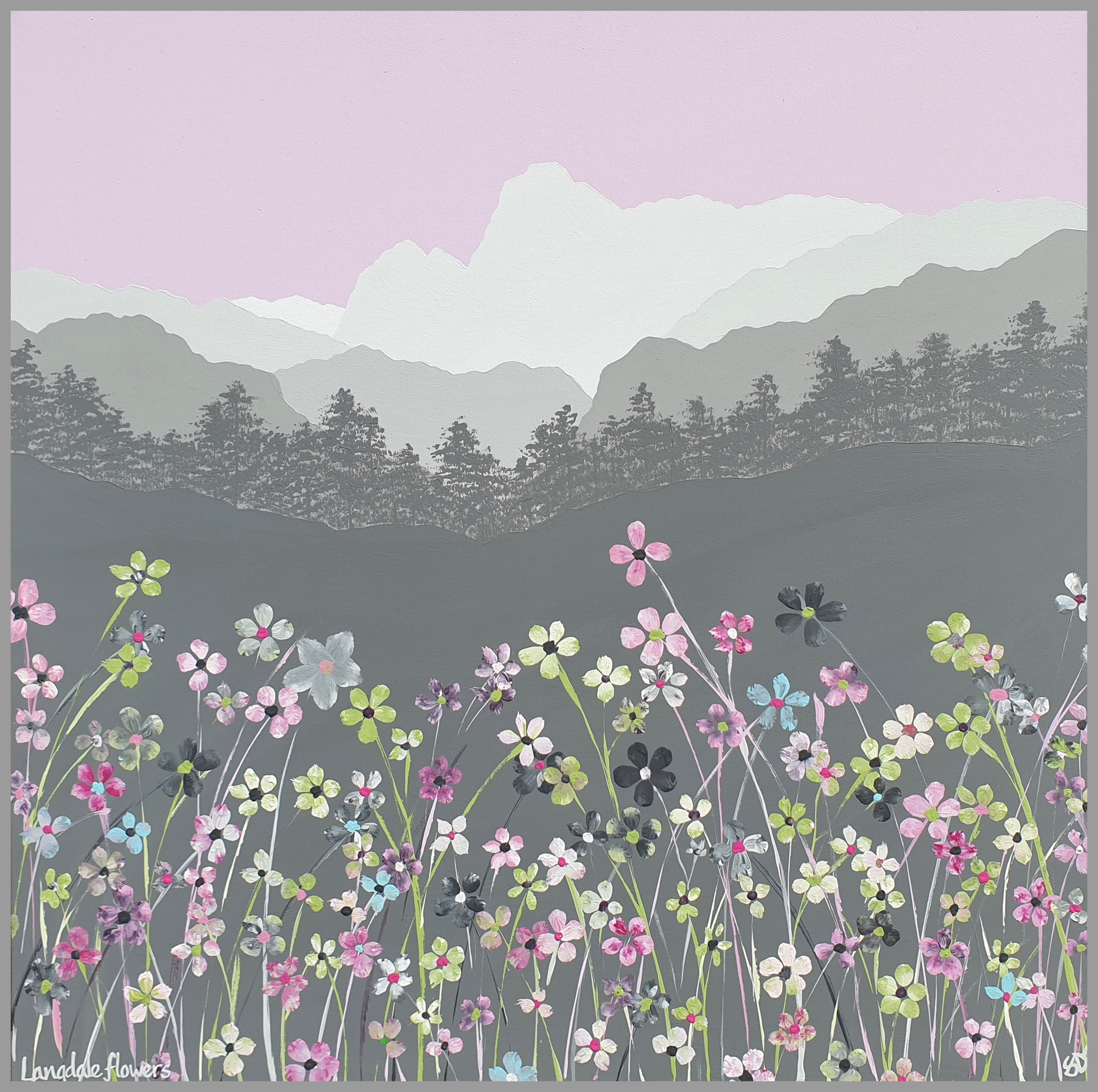 SOLD Langdale flowers