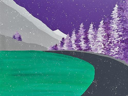 Snow on Lochan Uaine