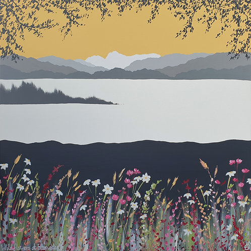 Print - Wild flowers at Elterwater