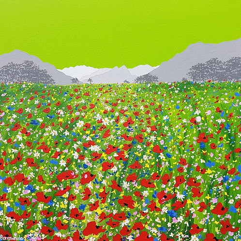Greetings Card - Borrowdale Meadow