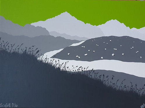 Scafell Pike Fine Art Print