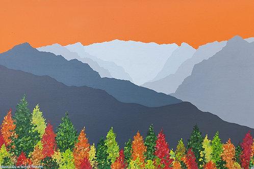 Autumn colours on Fairfield Horseshoe